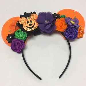 Halloween Mickey Ears Headband